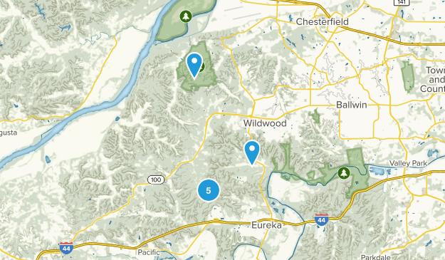 Wildwood, Missouri Walking Map