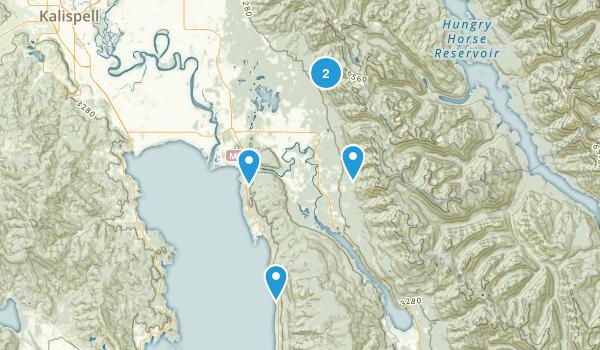 Bigfork, Montana Birding Map