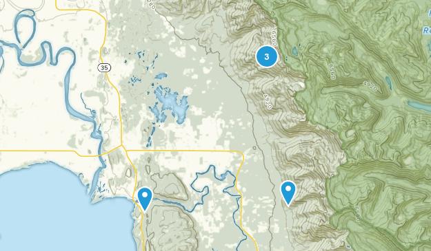 Bigfork, Montana River Map