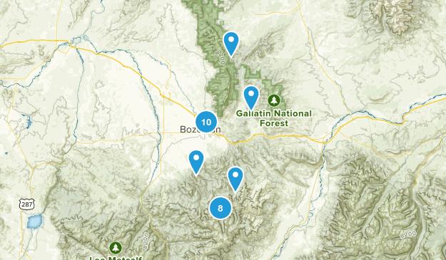 Bozeman, Montana Kid Friendly Map