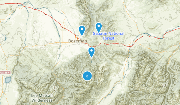 Best River Trails Near Bozeman Montana Photos Reviews - Montana rivers map
