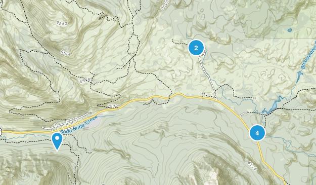 Cooke City, Montana Hiking Map