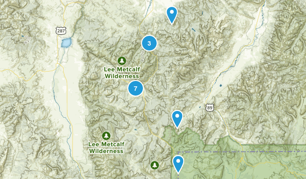 Gallatin Gateway, Montana Kid Friendly Map