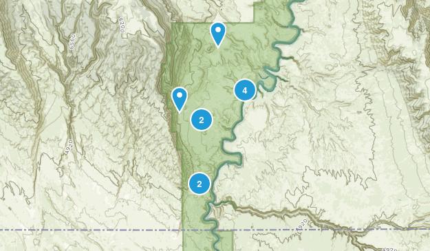 Hillsboro, Montana Nature Trips Map