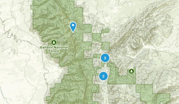 Sedan, Montana Birding Map