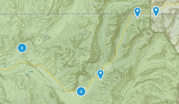 Silver Gate, Montana Fishing Map