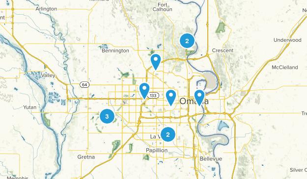 Omaha, Nebraska Birding Map