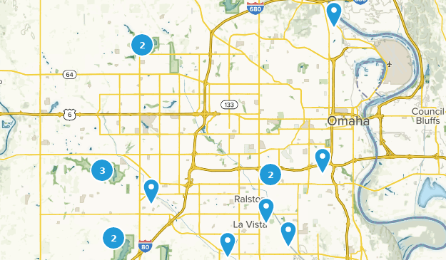 Best Road Biking Trails Near Omaha Nebraska Alltrails - Omaha-on-us-map