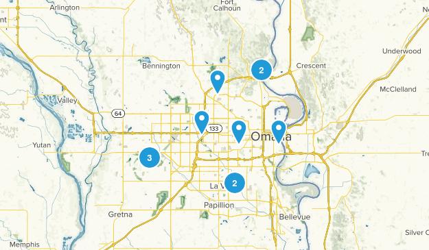 Omaha, Nebraska Views Map