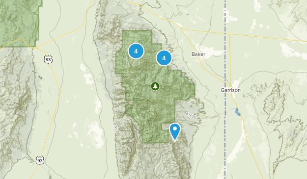 Baker, Nevada Kid Friendly Map