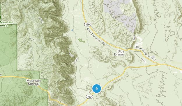 Bonnie Springs, Nevada Mountain Biking Map