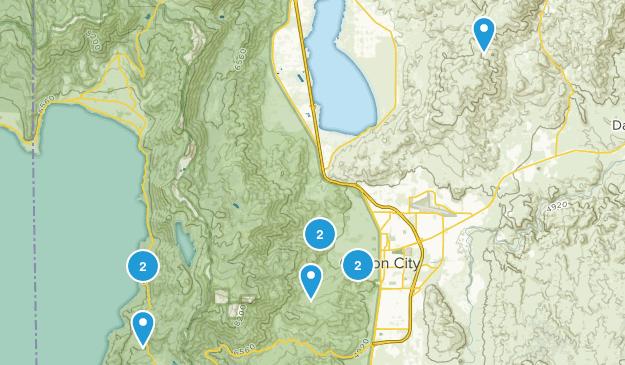 Carson City, Nevada Dog Friendly Map