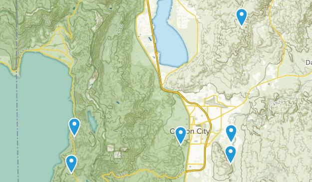 Carson City, Nevada Kid Friendly Map