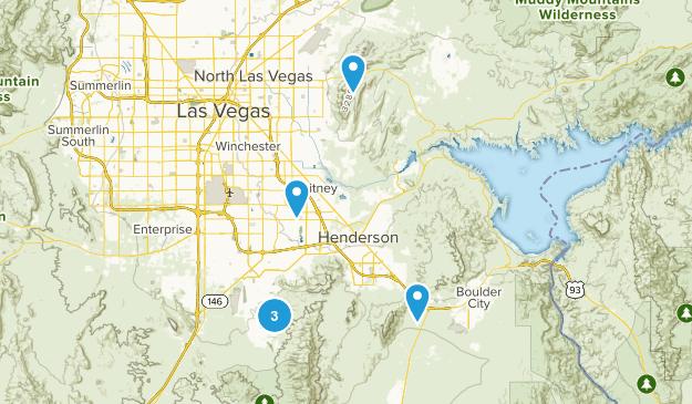 Henderson, Nevada Birding Map