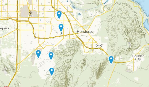 Henderson, Nevada Kid Friendly Map