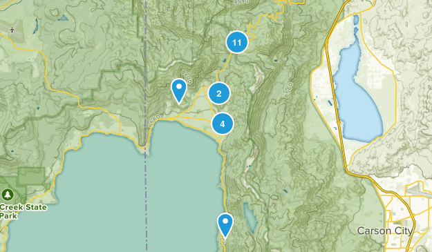 Incline Village, Nevada Birding Map