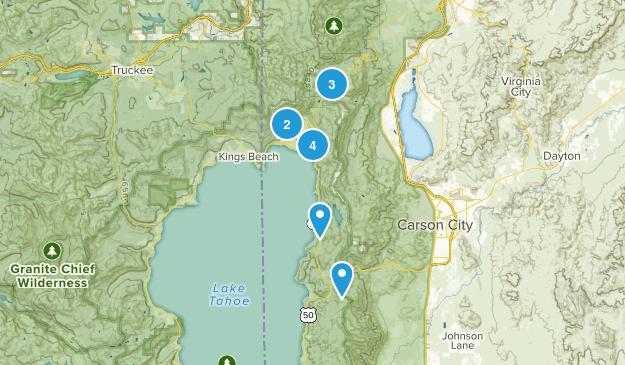 Incline Village, Nevada Wildlife Map