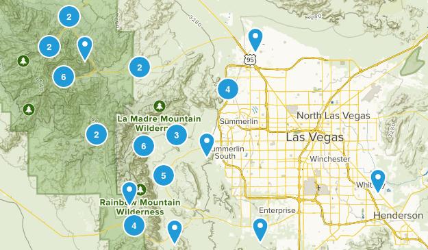 Las Vegas, Nevada Dog Friendly Map
