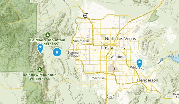 Las Vegas, Nevada No Dogs Map