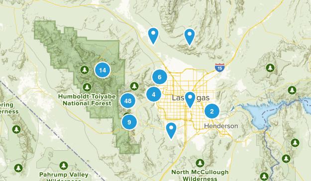 Las Vegas, Nevada Walking Map