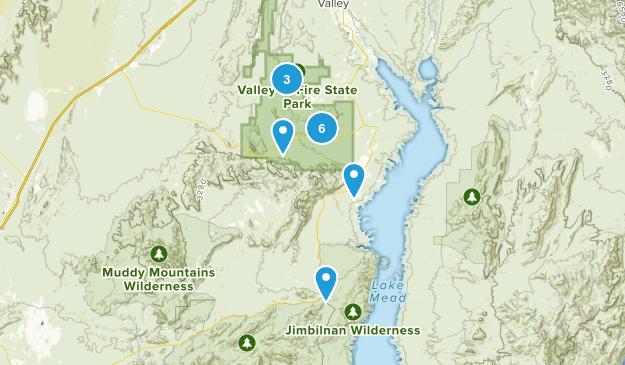 Overton, Nevada Birding Map