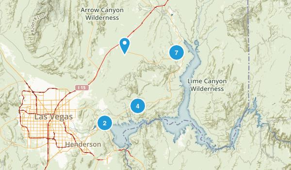 Overton, Nevada Dog Friendly Map