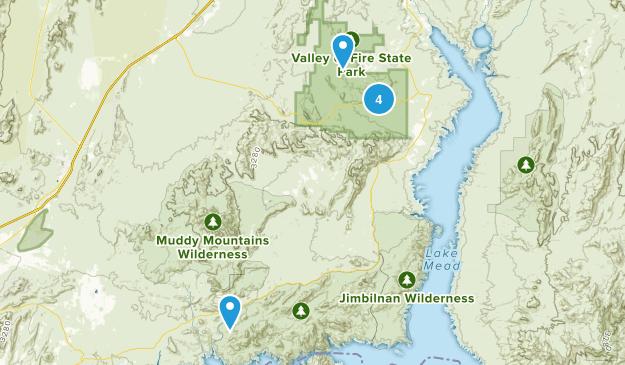 Overton, Nevada Wildlife Map