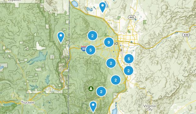 Reno, Nevada Birding Map
