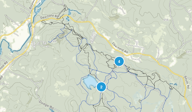 Allenstown, New Hampshire Walking Map