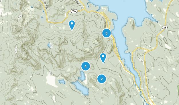 Alton Bay, New Hampshire Views Map
