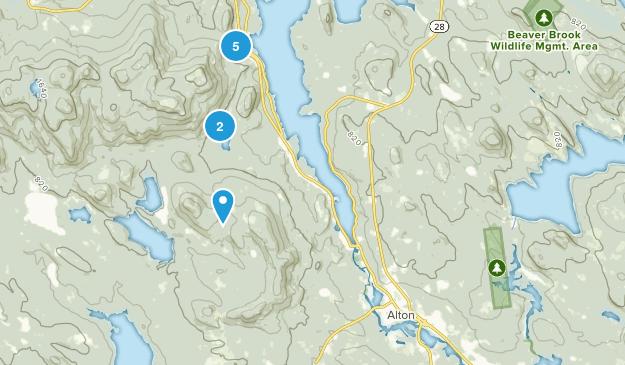 Alton, New Hampshire Walking Map