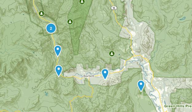 Bartlett, New Hampshire River Map