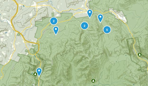 Bethlehem, New Hampshire Birding Map