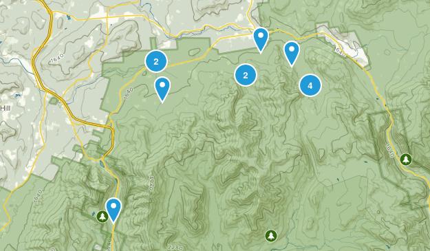 Bethlehem, New Hampshire Walking Map