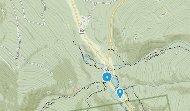 Carroll, New Hampshire Birding Map