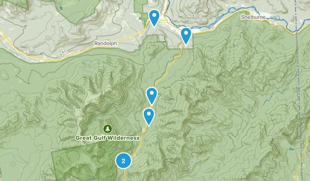 Gorham, New Hampshire Dog Friendly Map