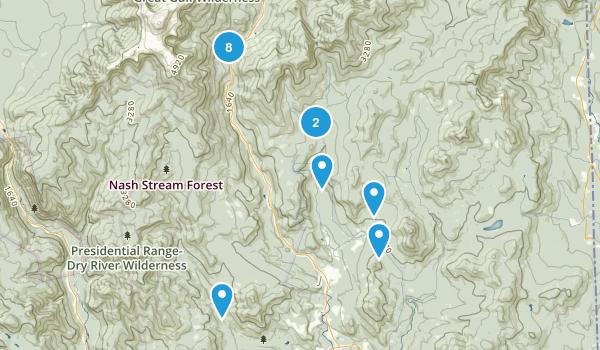 Jackson, New Hampshire Birding Map