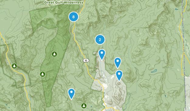 Jackson, New Hampshire Walking Map