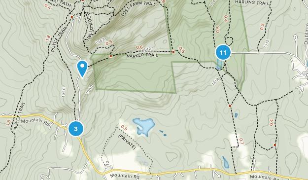 Jaffrey, New Hampshire Birding Map
