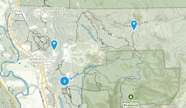 North Conway, New Hampshire Wildlife Map