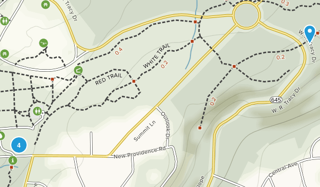 Mountainside, New Jersey Nature Trips Map
