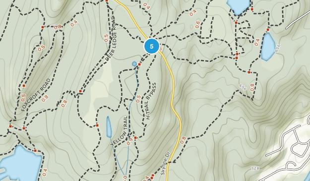 Oakland, New Jersey Mountain Biking Map