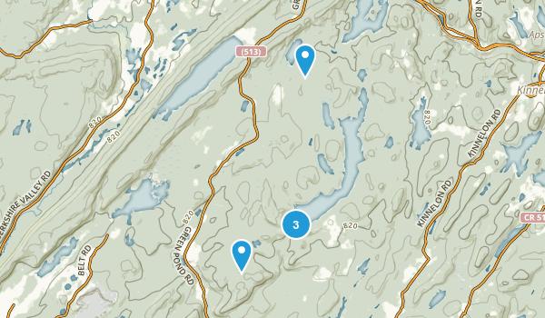 Rockaway, New Jersey Nature Trips Map
