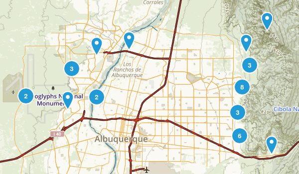 Best Hiking Trails Near Albuquerque New Mexico Photos - Us hiking trails map
