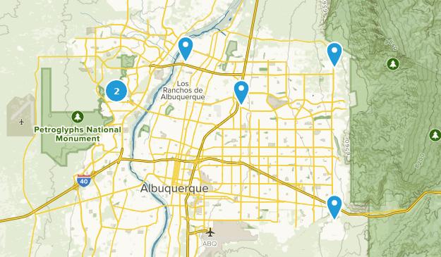 Beste befestigte Wege in der Nähe von Albuquerque, New ...