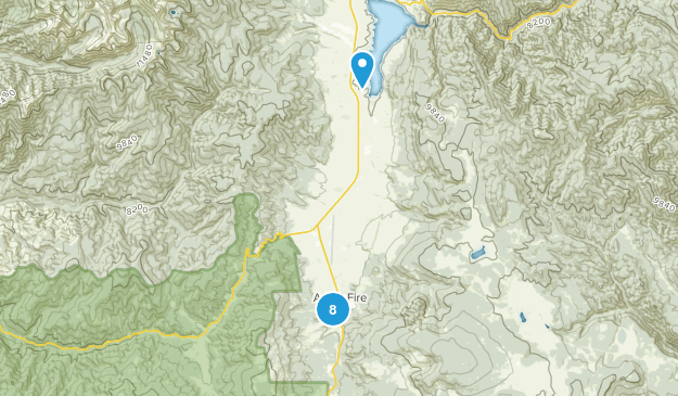 Angel Fire, New Mexico Nature Trips Map