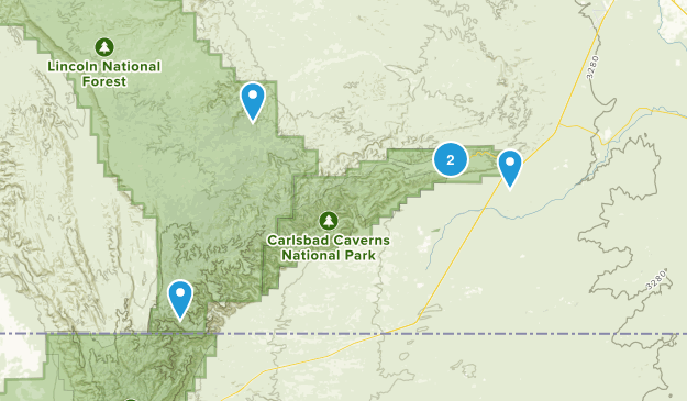 Carlsbad, New Mexico Kid Friendly Map
