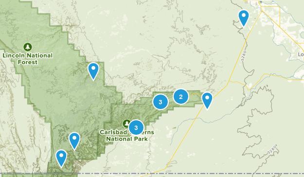 Carlsbad, New Mexico Views Map