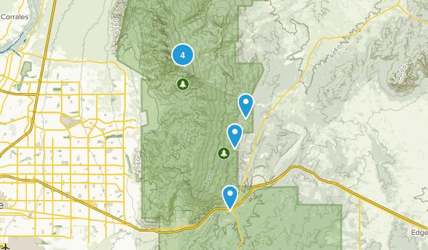 Cedar Crest, New Mexico Wildlife Map