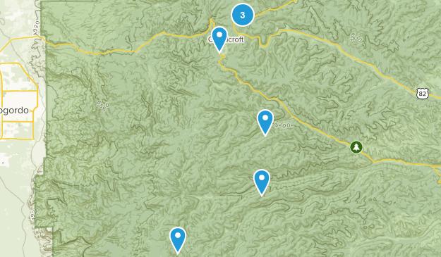 Cloudcroft, New Mexico Birding Map
